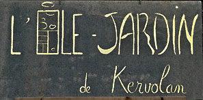 Île Jardin de Kervolan